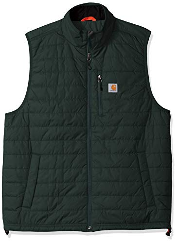 (Carhartt Men's Big & Tall Gilliam Vest, Canopy Green 3X-Large)