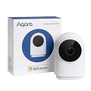 Best Epic Trends 41yjlEtRWXL._SS300_ Aqara Security Camera, HomeKit Secure Video Indoor Camera, Night Vision, Two-Way Audio, 1080P HD Plug-in Indoor Cam…