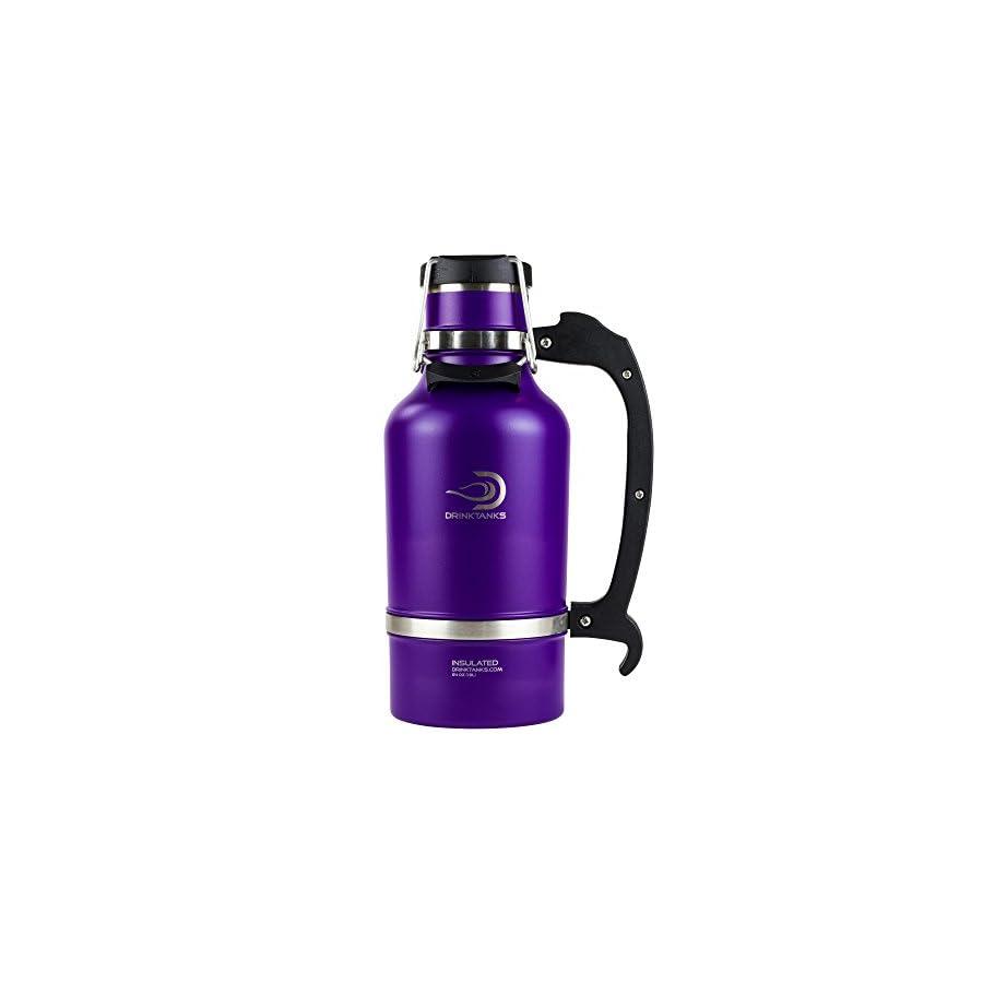 DrinkTanks 64 oz Vacuum Insulated Growler