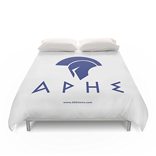 Society6 ARES Soccer Duvet Covers King: 104'' x 88'' by Society6