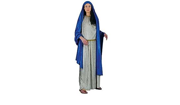 Stamco Disfraces Chiber - Disfraz Virgen Maria para Mujer Adulta ...