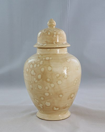 Handcrafted Ceramic Urn - Savannah -113 cu in - Various Colors and Sizes Available, Cremation Urn for Ashes, Pet Urn by Richland Pet Cremation & Memorials
