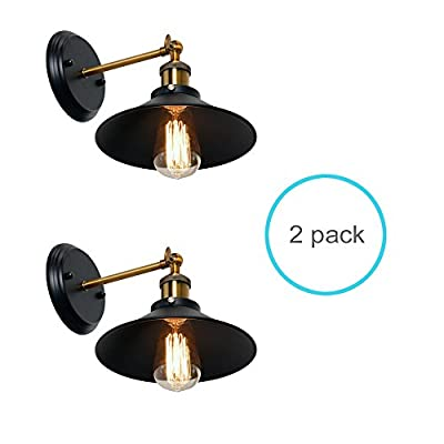 Wereal Wall Sconces Light, E26 Base Industrial intage Edison Simlicity Lighting Fixture