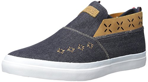 - Diamond Supply Co Men's Folk Slip-On Skateboarding Shoe, Denim, 10.5 D US