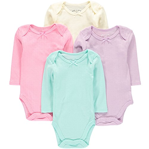 Amazon #DealOfTheDay: Wan- A-Beez Baby 4 Pack Long Sleeve Bodysuits