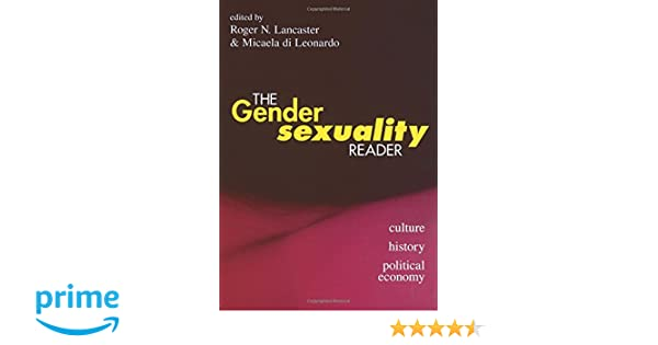 The gender sexuality reader lancaster