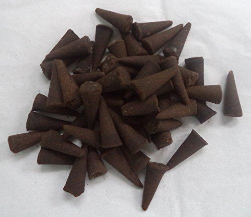Incense Cones 50 Bulk Pack Plus Holder: Frankincense and Myrrh by Rainbowrecords239