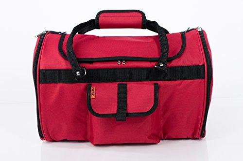 Prefer Pets Travel Gear 312BUR Hideaway Duffle Pet Carrier, Medium