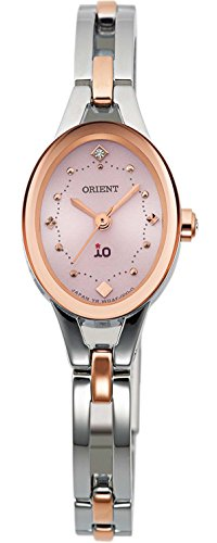 ORIENT watch iO Perfume Solar Pink WI0361WD Ladies