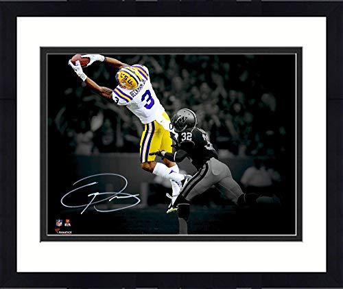 Framed Odell Beckham Jr. LSU Tigers Autographed 11