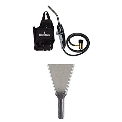 Bernzomatic BZ8250HT Trigger-Start Hose Torch | Stainless Steel Flame Spreader