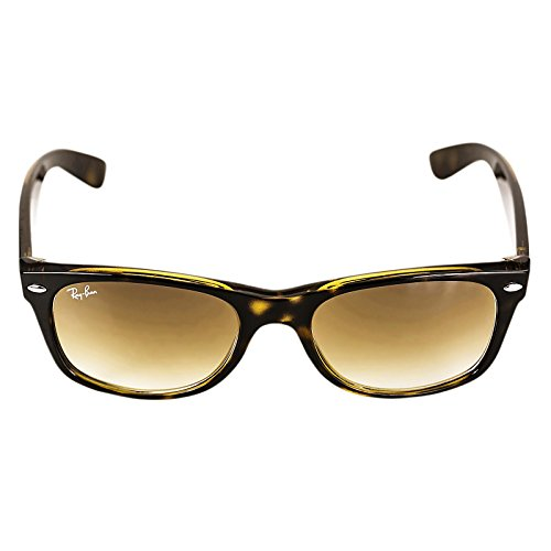 Ray-Ban RB 2132 710/51 New Wayfarer Light Havana / Crystal Brown Gradient - Ban Cats 1000 Ray