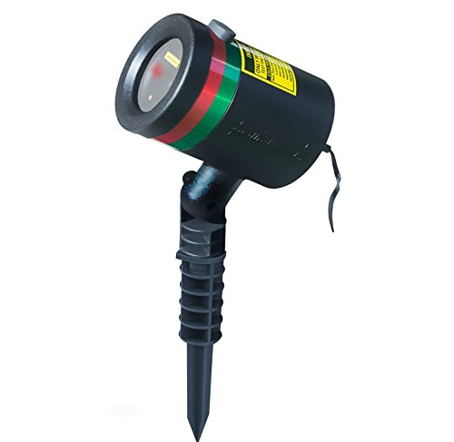 Star Shower As Seen on TV Static Laser Lights Star (Christmas Projector Light)