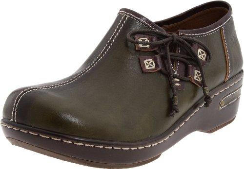 Spring Step Women's Laramie Slip-on,Olive,35 EU/4.5-5 M US by Spring Step (Image #1)