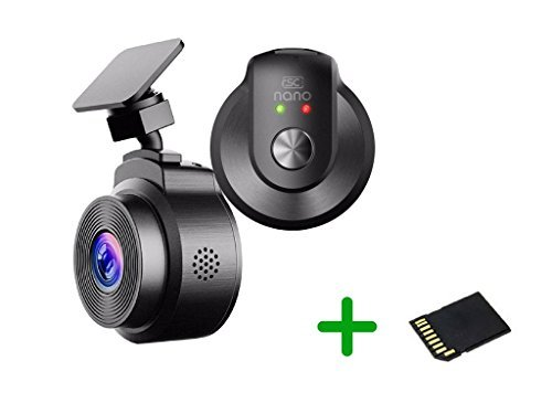 RSC Labs Nano Dashcam Kit – Pocket-Sized | Wi-Fi connectivity | Full HD 1080p Resolution with Sony Exmor Image Sensor | 16GB SD Card Included | #RSC-Nano-B For Sale