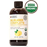 Gallbladder Complete - Natural Liquid Gallstones Cleanse & Sludge Formula (8oz)