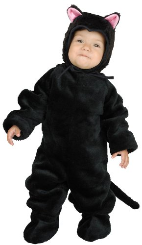 Toddler Little Black Cat Costume 2-4T