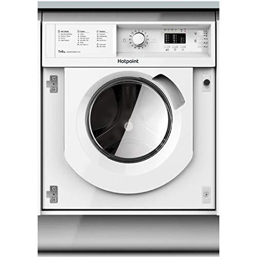 Hotpoint BIWDHL7128 7kg Wash 5kg Dry Integrated Washer Dryer With Efficient Inverter Motor - White