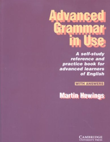 Advanced Grammar in Use With answers -