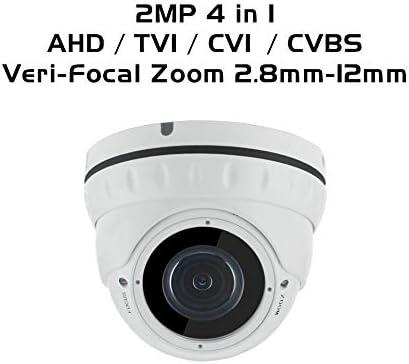 2MP Security Camera Wide Angle Lenses 1080P night vision AHD TVI CVI CVBS 4 in 1