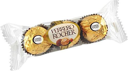 Ferrero Rocher 16 Piece - Ferrero Rocher 3 Pieces (Pack of 16)