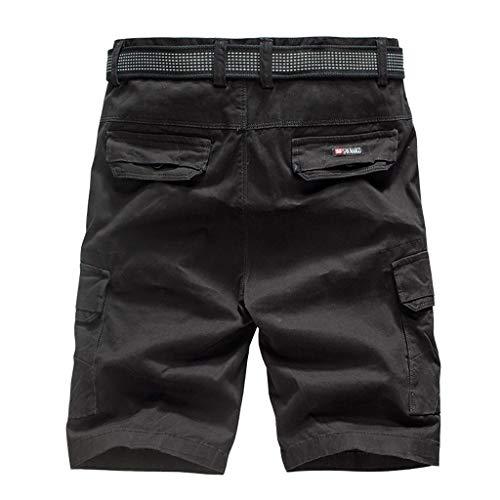 Décontracté Short Noir Sport Court Sporthose Respirant Bermuda Summer Rapide De Pantalons Plage Shorts Poches Luoluoluo Loisirs qtxwPRnZ