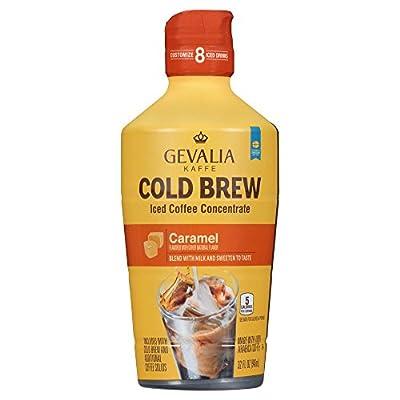 Gevalia Cold Brew Vanilla Iced Coffee Concentrate, 32 oz