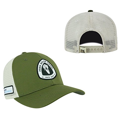 9f288972f8a Top of the World John Muir Trail Official Adjustable Ranger 1 Hat Cap Mesh  Curved Bill