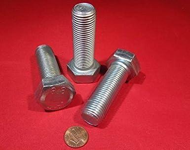 Amazon com: Class 8 8 Zinc Plated Steel Hex Head Bolts, M20