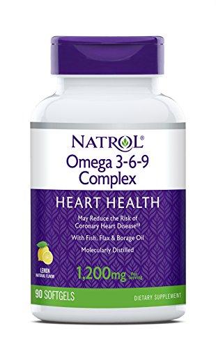 (Natrol Omega 3-6-9 Complex Softgels, 90-Count)