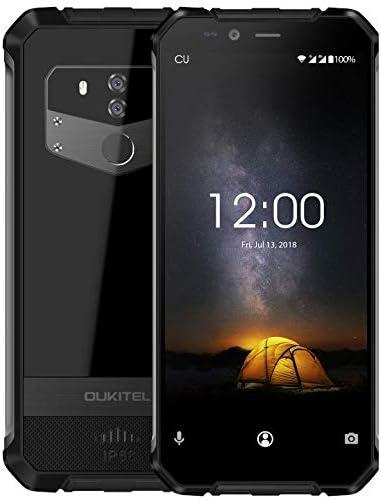 OUKITEL WP1 IP68 Teléfono móvil Todoterreno/Anti Agua/antigolpes (Marco de Metal), 5,5
