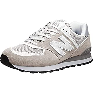 New Balance Men's 574 V2 Evergreen Sneaker, Nimbus Cloud/Nimbus Cloud, 4 W US