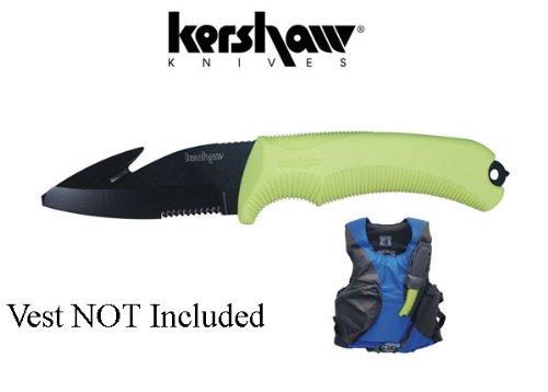 Kershaw Responder Yellow Knife, Outdoor Stuffs
