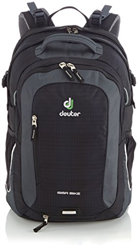 Cheap Deuter Giga Bike Commuter Backpack, Black / Anthracite