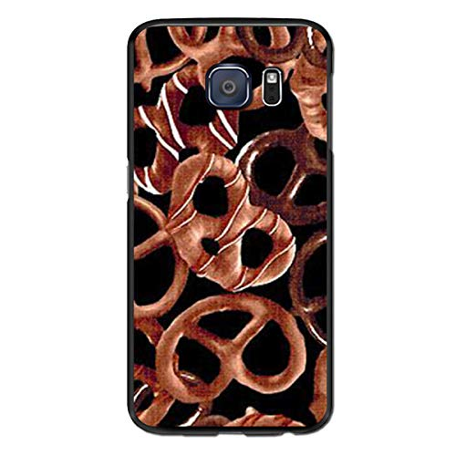 Rfuyho Chocolate Pretzels Galaxy S6 Edge Case, S6 Edge Case, Slim Case Cover - Ultimate Protection for Samsung Galaxy S6 Edge