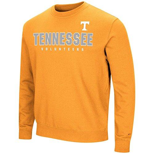 Tennessee Volunteers Crew Sweatshirt - Tennessee Volunteers Vols UT Sweatshirt Playbook Crew Neck Fleece (Large)