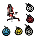 Game Chair Caster Wheels (Set of 5) Office Chair