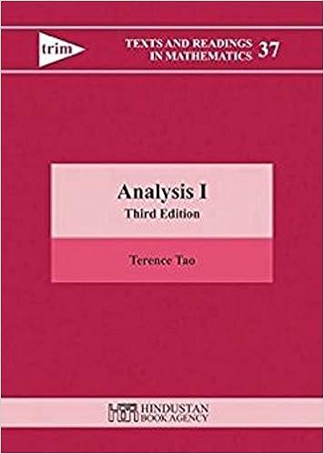 Terence Tao Analysis 1 Pdf
