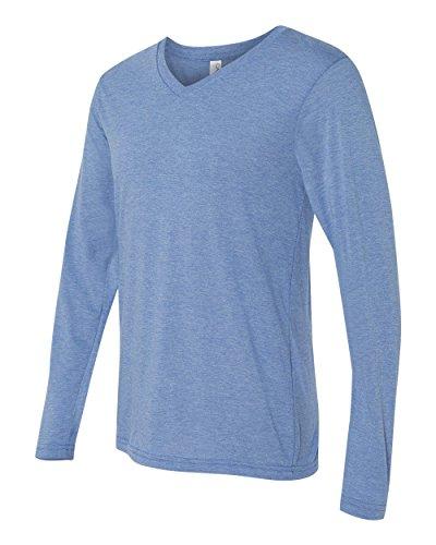 Bella + Canvas Men's Jersey Long-Sleeve V-Neck T-Shirt