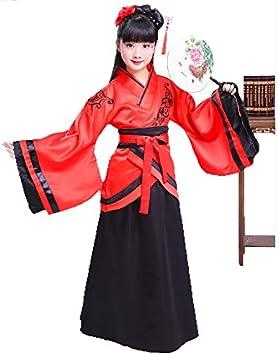 J&D ARTDECOR - Disfraz Chino de Año Nuevo para niñas, Vestido de ...