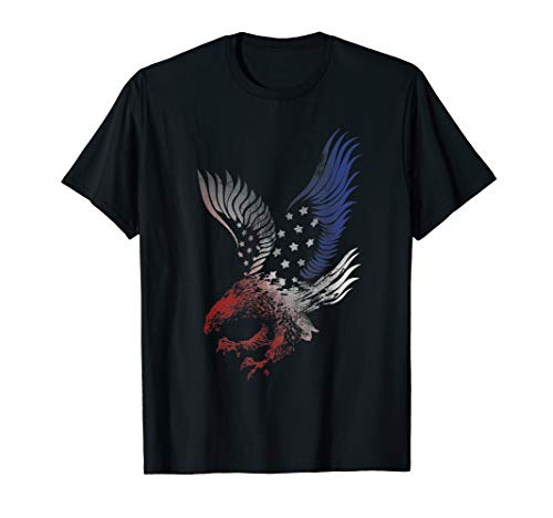 Patriotic T Shirt Apparel Eagle American Flag