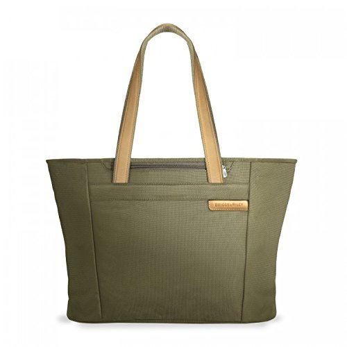 Briggs & Riley Baseline Large Shopping Tote,Olive,13x17x7.3 by Briggs & Riley