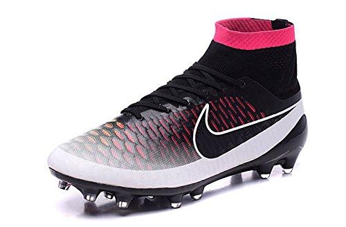 stengren zapatos Mens Magista Obra FG Botas de fútbol de fútbol de blanco y rosa, hombre, rosa, 42