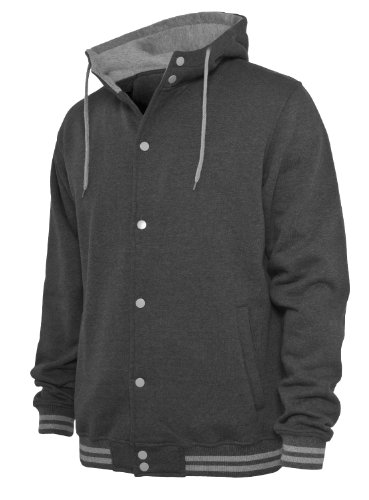 """Urban : """"Hooded College Sweatjacket"""" Size: S, Color: charcoal-grey …TB288"""