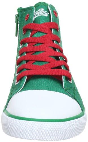 Lico Fly High 180257 Unisex-Kinder Sneaker Grün (gruen/weiss)