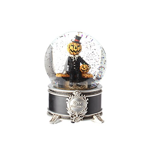Witch Globe (6.5inch Musical Pumpkin Water Globe)