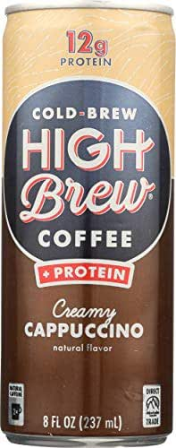 Coffee Drinks: High Brew Coffee + Protein