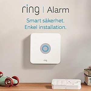 Ring Alarm Kit med 5 delar (1:a generationen) från Amazon - Säkerhetssystem för hemmet med assisterad övervakning som tillval – inga långa bindningstider