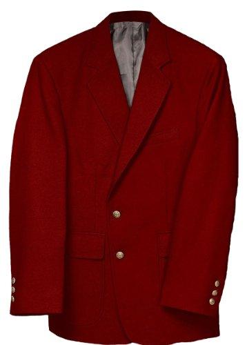 Edwards Men's Value Poly Blazer, RED, 54