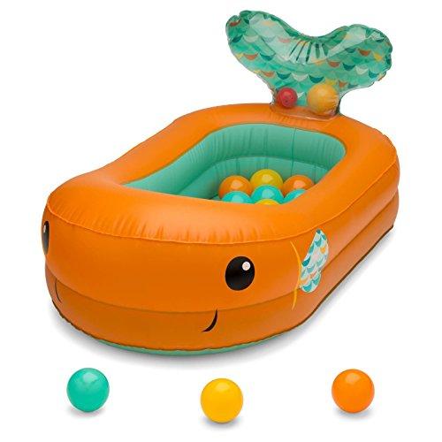 Infantino Go Gaga Bubble Ball Bath Tub-Orange Orange